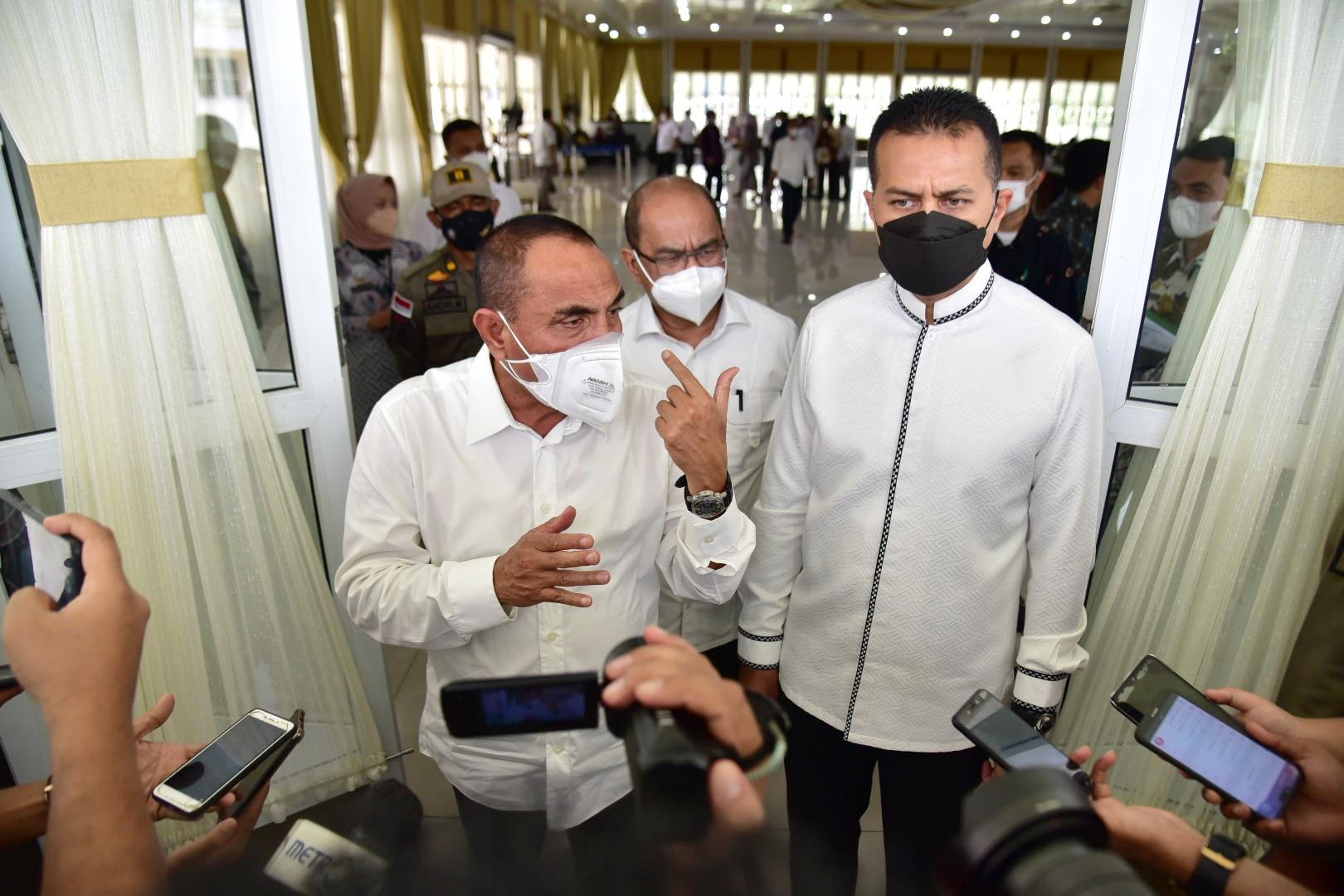 Selama Pandemi Covid-19, Kekayaan Gubernur Edy Turun, Wagub Musa Naik