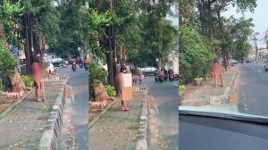 Protes PPKM Pakai Bikini di Jalanan, Dinar Candy Ditangkap Polisi