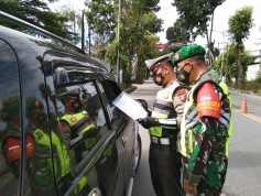 484 Kendaraan Menuju Siantar Diputar Balik Selama PPKM Level 4