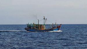 Curi Ikan, Kapal Berbendera Malaysia di Selat Malaka Ditangkap KKP