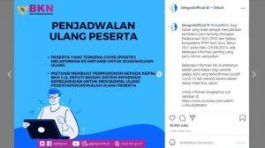 Link Live Streaming Memantau Score Nilai SKD CPNS 2021, dari Aceh Sampai Papua