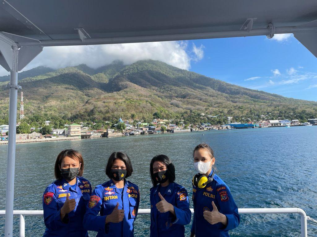 Terobosan Baru Kapolda NTT: Untuk Dapat Brevet Bahari, Polwan Polair Wajib Berlayar dengan Kapal Polri