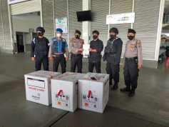 Sebanyak 11.174.800 Dosis Vaksin Sinovac Tiba di Bandara Kualanamu
