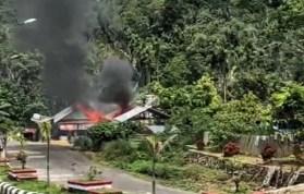 Siang Bolong, Satu Unit Rumah Terbakar di Sipirok