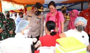 akselerasi vaksinasi Pulau Nias