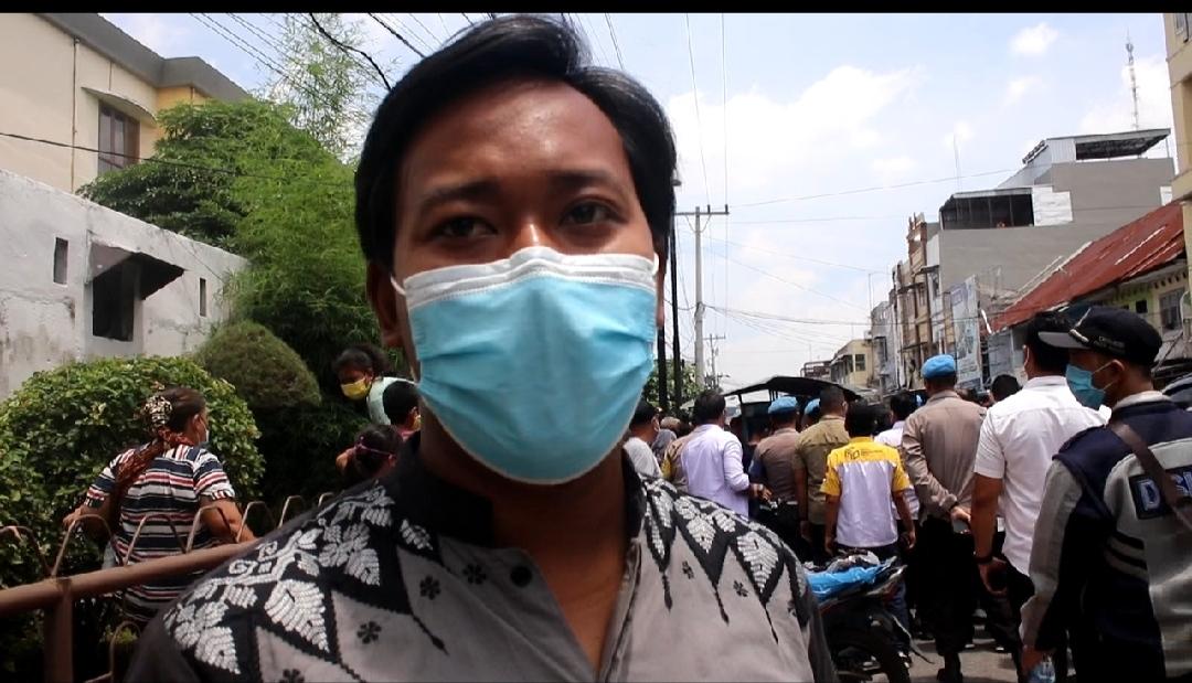 Cerita Arjuna, Pedagang Tempe yang Diberi Bantuan Tunai Oleh Dua Menteri Jokowi