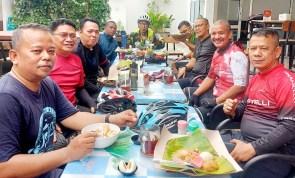 Sekum PDIP Sumut Ajak Jurnalis Hidup Sehat