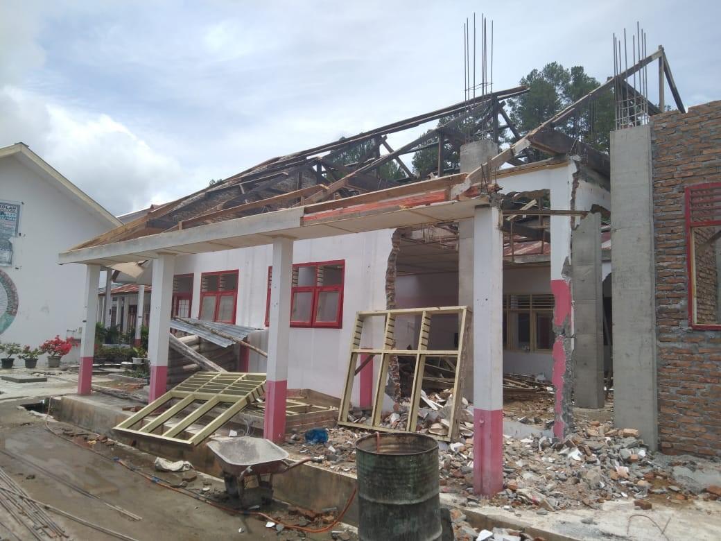 Investigasi ICW: Bangunan Sekolah Kokoh Dirobohkan Demi Mendapat DAK Rp34 M di Taput