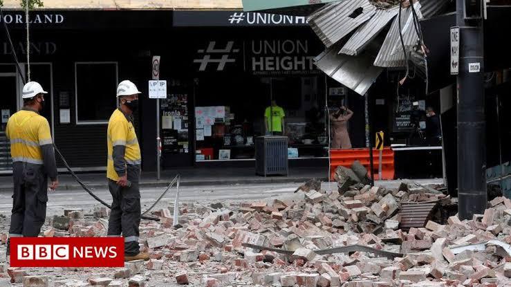Gempa australia