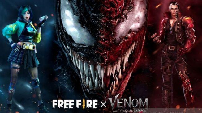 """Patut Dicoba Nih! Free Fire Hadirkan Konten dan Misi Baru """"Venom: Let There Be Carnage"""""""