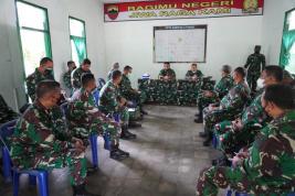 Pangdam Tinjau Latihan, Ribuan Pasukan Kodam I/BB Siap Tempur di Dolok Panribuan