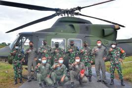 Pangdam I/BB Tinjau Latihan Drill Tempur Yon Tim Pertempuran (YTP) R-100/PS via Udara