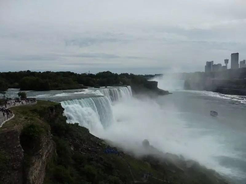 Niagara Falls Observation Tower View, Niagara County, New York 8-15-2016