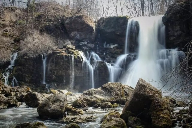 Akron Falls waterfall