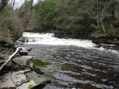 Mad River Upper Falls, Oswego County, New York