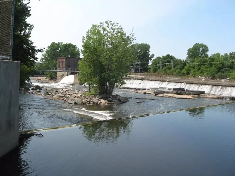 Black River, Seawall Island Falls, Jefferson County, New York