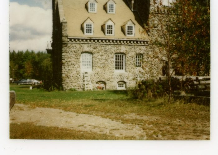 Stone Barn Castle, Oneida County, New York 1979ish