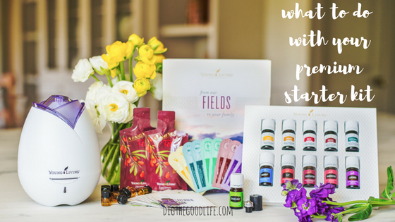 what to do with your young living starter kit