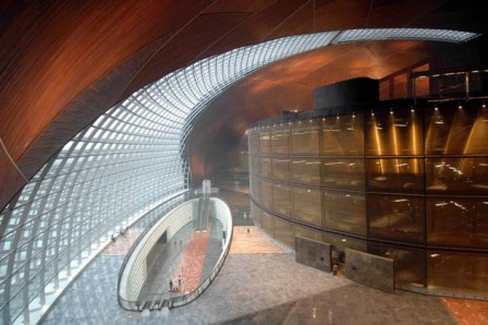 Opéra National de Pékin (Beijing National Theatre) par Paul Andreu