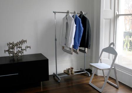 Hanger chair Philippe Malouin chaise cintre milan 2008