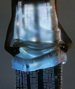 Hussein Chalayan LED Dress