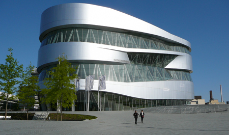 Musée Mercedes Benz Stuttgart museum