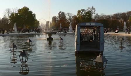Fiac 2007 Tuileries Estafette Claude Levêque