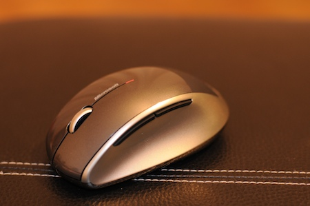test Souris Microsoft Bluetrack Explorer