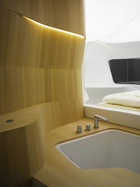 future hotel room LAVA Fraunhofer Stuttgart