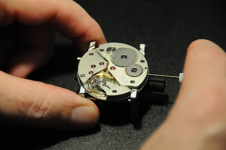 Atelier horlogerie salon belles montres