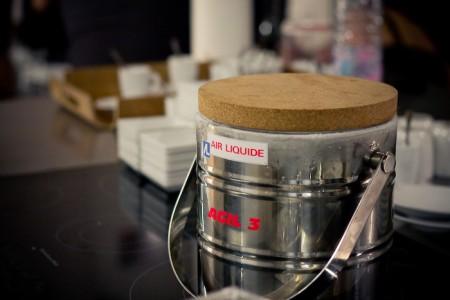 Azote liquide cuisine moléculaire