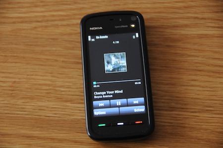 Test Nokia 5800 Xpress Music lecteur mp3