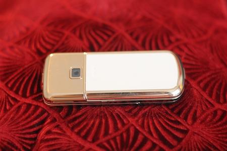 Test Nokia 8800 Gold Arte