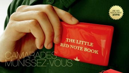 Atypyk Little Red Note Book carnet de notes