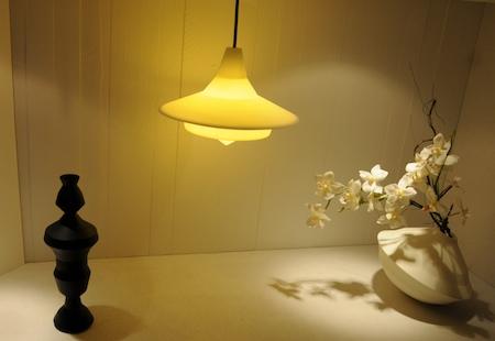 Vases lampe empreinte vocale NOCC