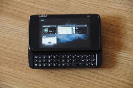 Test Nokia N900 multitâches
