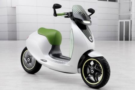 Smart E-Scooter : Mondial de l'auto ou Mondial du scooter électrique?