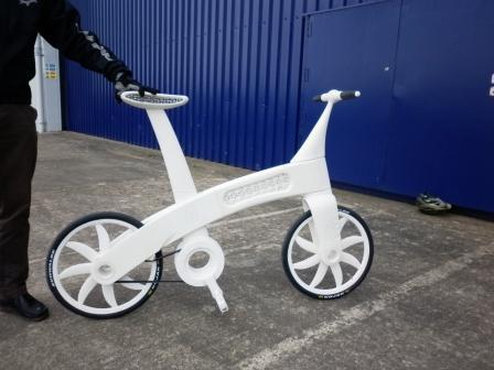 Airbike : EADS présente un vélo en prototypage rapide