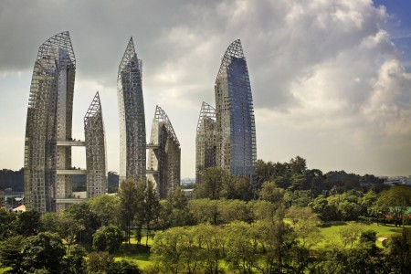Reflections at Keppel Bay par Daniel Libeskind à Singapour