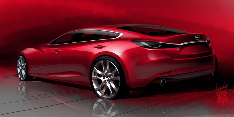 Mazda-6_Sedan sketch