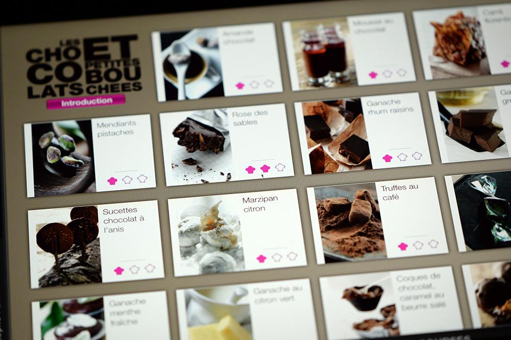 Pâtisserie Christophe Felder livre app