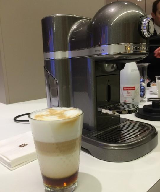 KitchenAid Nespresso machine Artisan