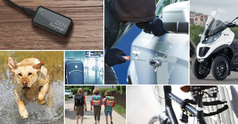 Beepings Zen Trackeur GPS autonome