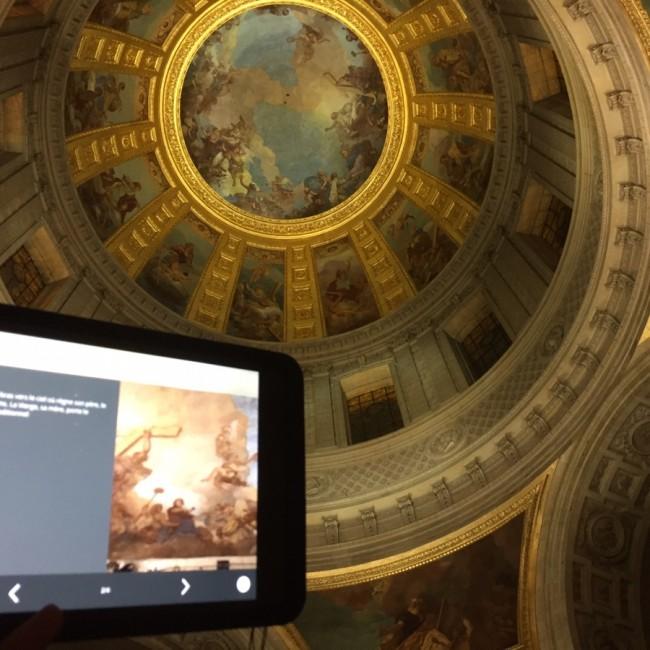 Musée invalides iPad