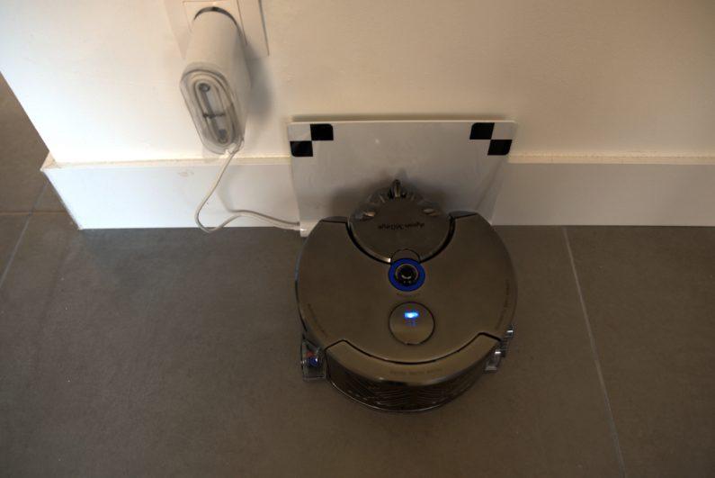 Test robot aspirateur Dyson 360 Eye