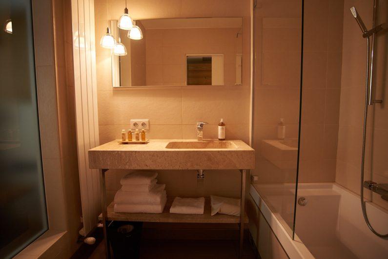 Salle de bains dominique Colonna hôtel test review