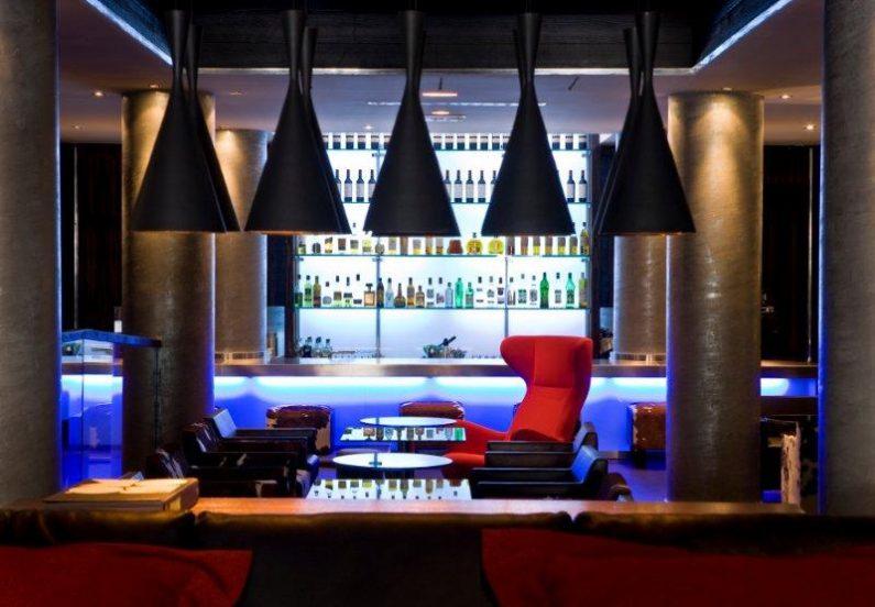 Avenue Lodge hotel luxe val d'Isère avis meilleur design bar