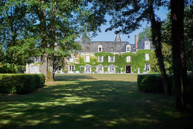 test domaine hauts de loire relais château h8collection hôtel luxe
