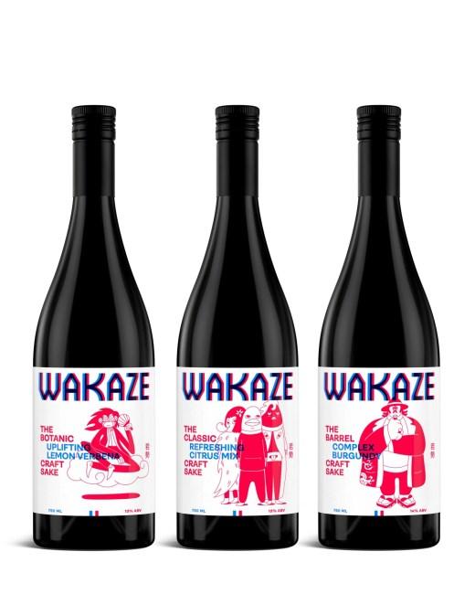 test saké français Wakaze