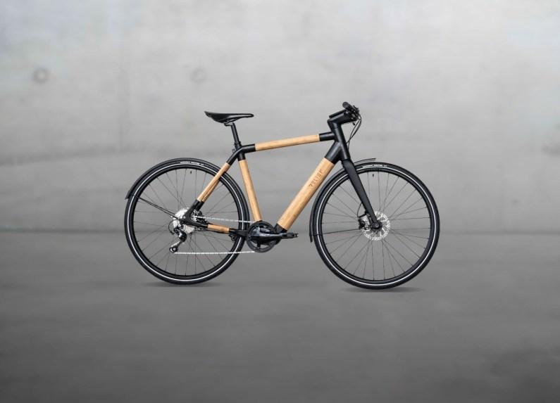 Relief : un vélo électrique connecté en bambou made in France